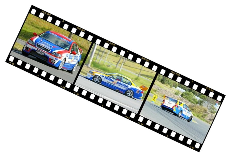 Total Driver Performance Track Days Film Strip